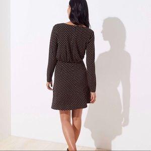 LOFT Dresses - Bloom Keyhole Flounce Dress